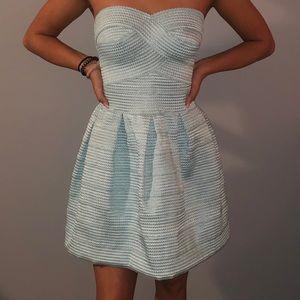 Small Blue Bandage Dress 👗
